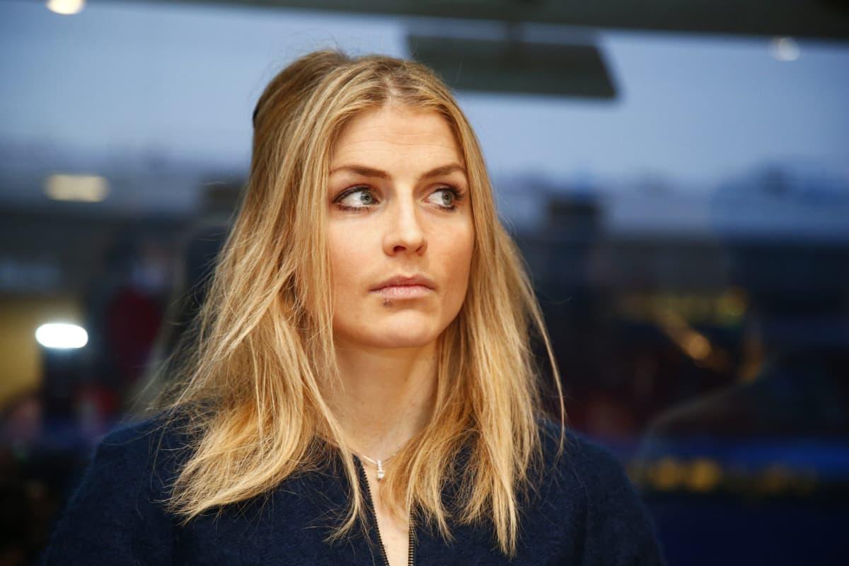 Norjalaishiihtäjä Therese Johaug oikeudenkäynnissä Oslossa 25. tammikuuta.