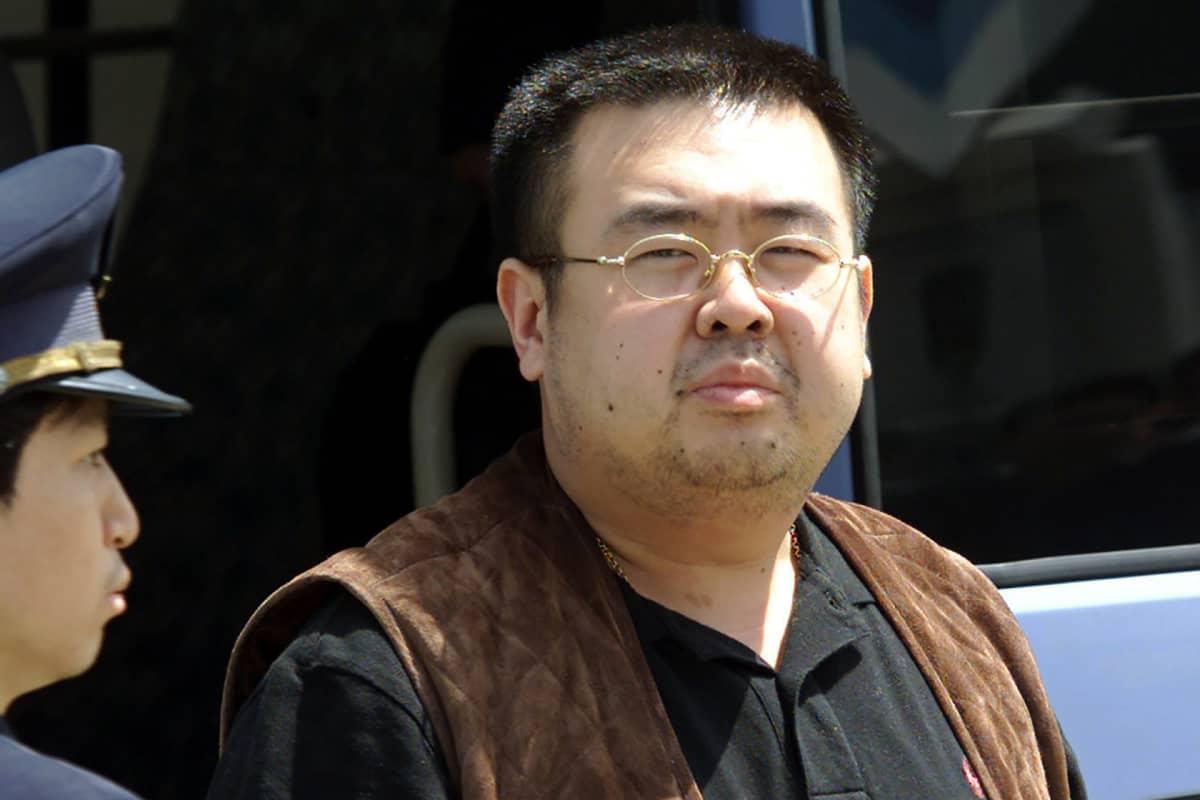 Kim Jong-nam kuvattuna 2001 Japanissa.