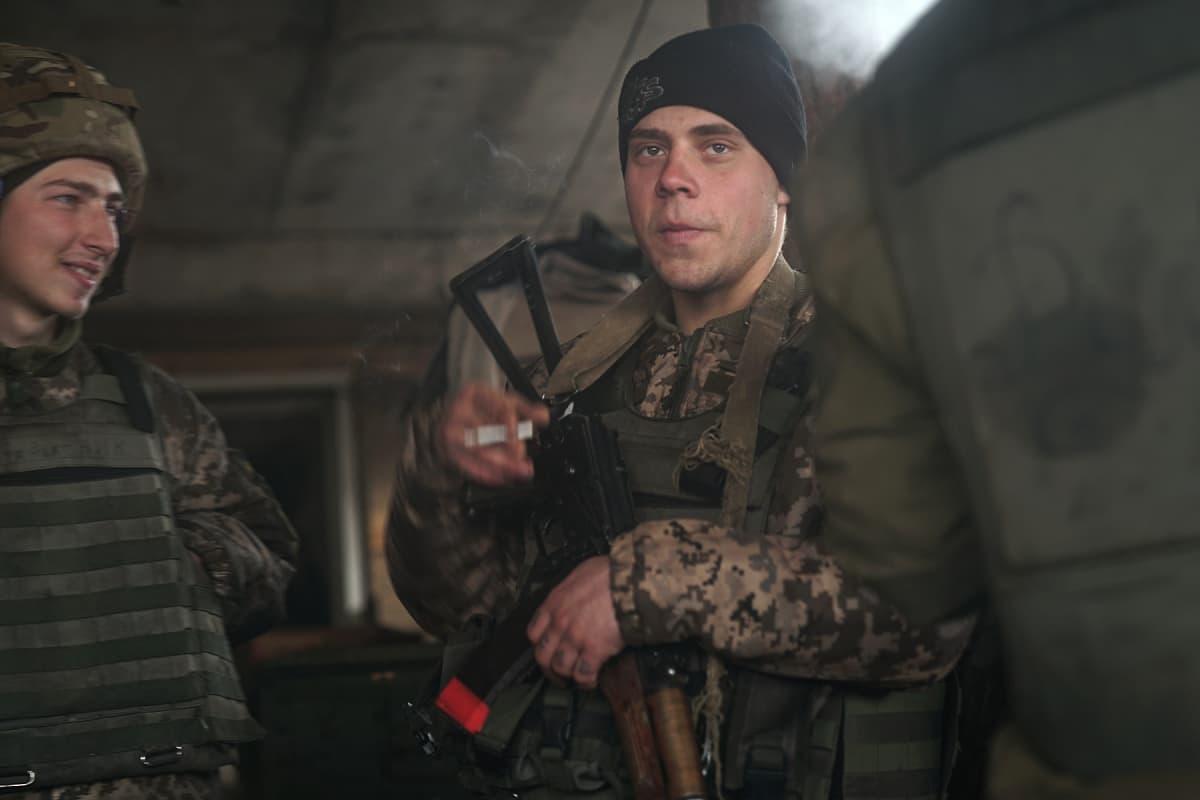 Monet ukrainan armeijan sotilaista ovat vasta parikymppisiä.