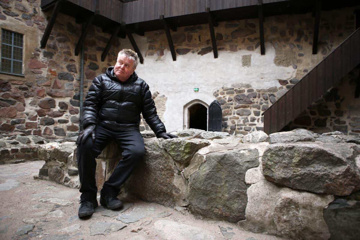 VP Lehto Turun linnan alueella.