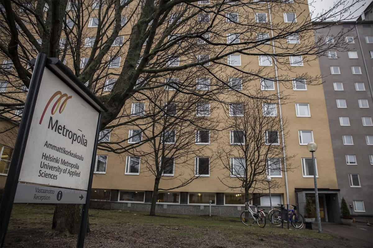 Ammattikorkeakoulu Helsinki Metropolia.