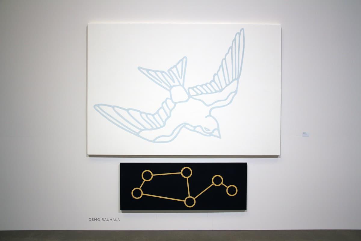 Osmo Rauhalan taideteos