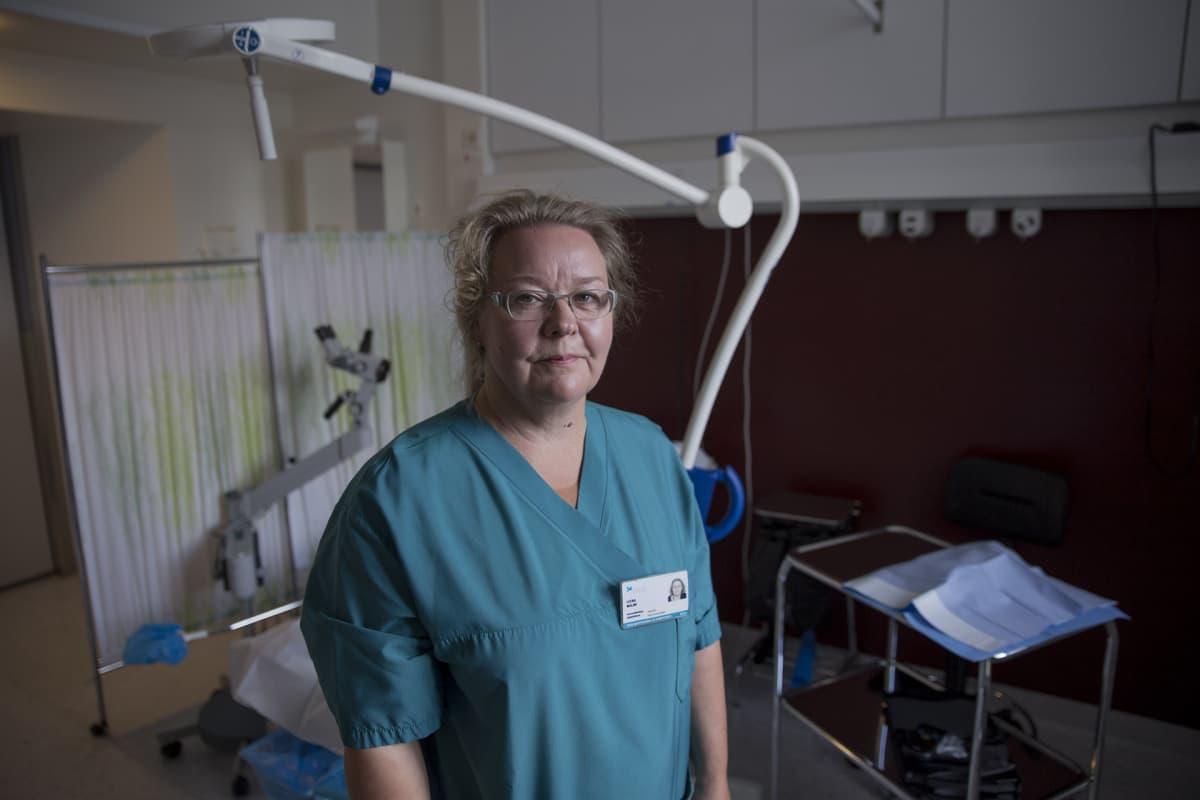 Leena Malmi kätilö HUS Seri-tukikeskus