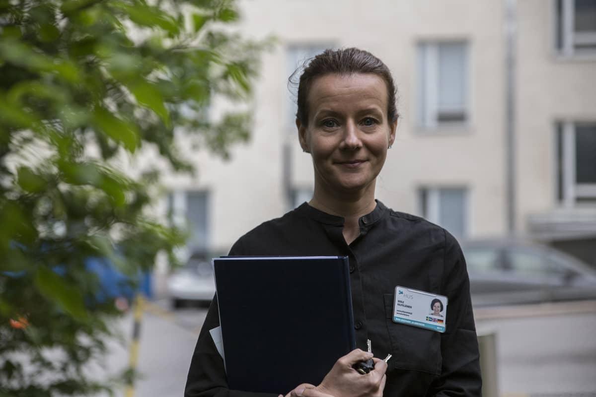 Soile Kilpeläinen, sosiaalityöntekijä, HUS Seri-tukikeskus