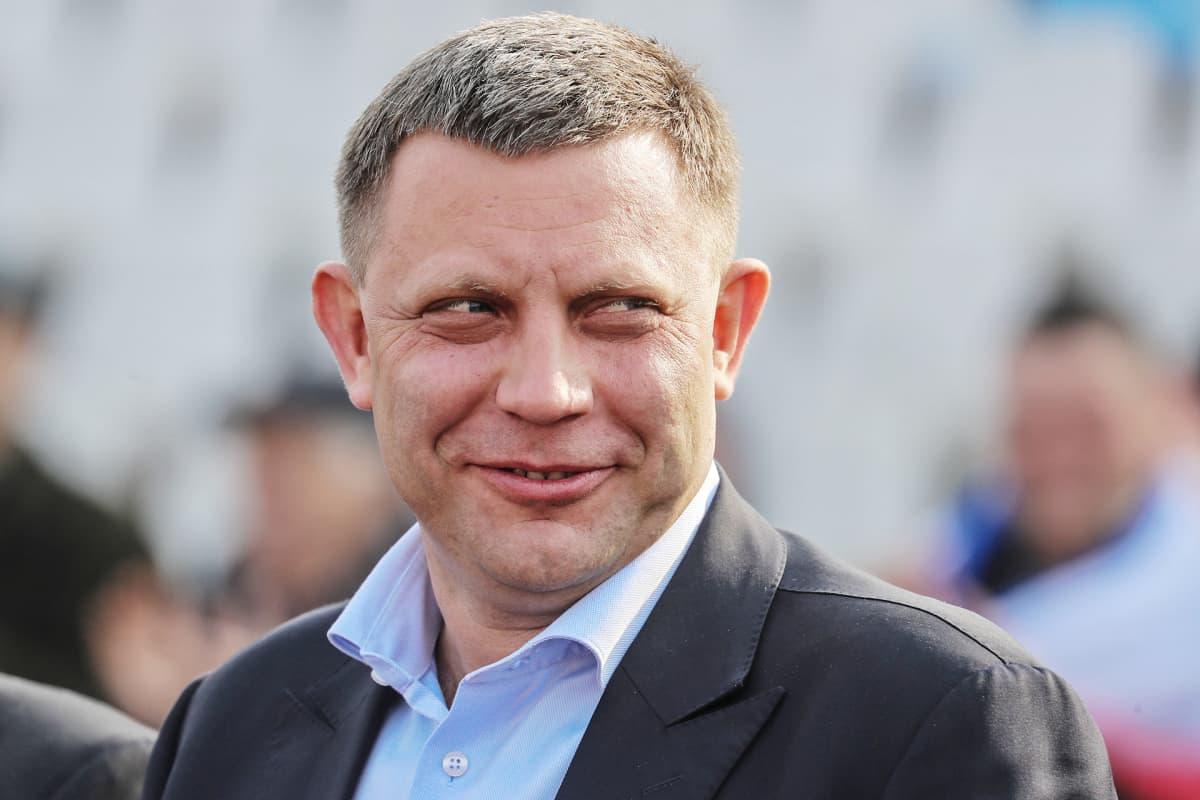 Donetskin kansantasavaltaa johtava Aleksandr Zahartšenko.