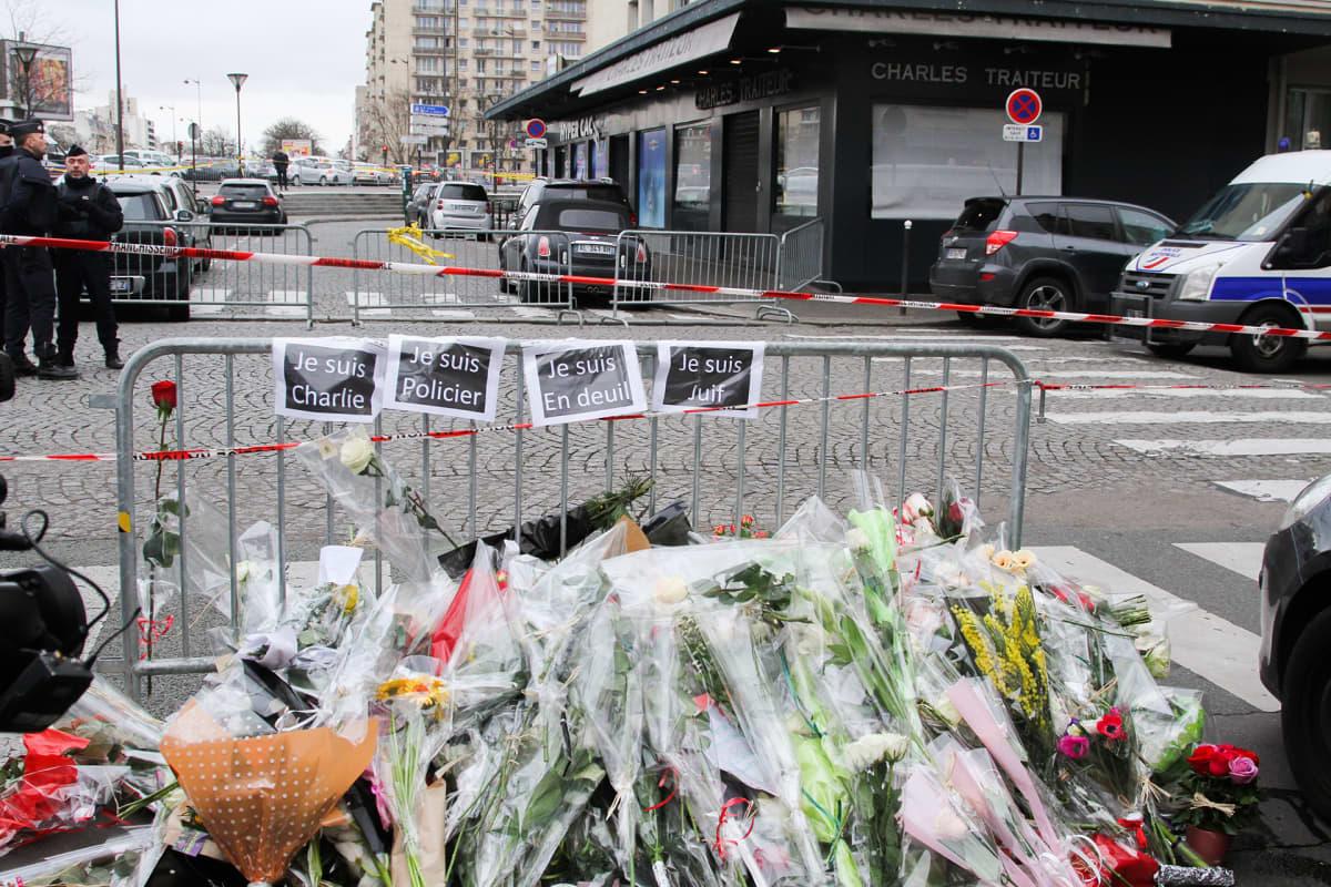 Pariisin isku vuonna 2015.