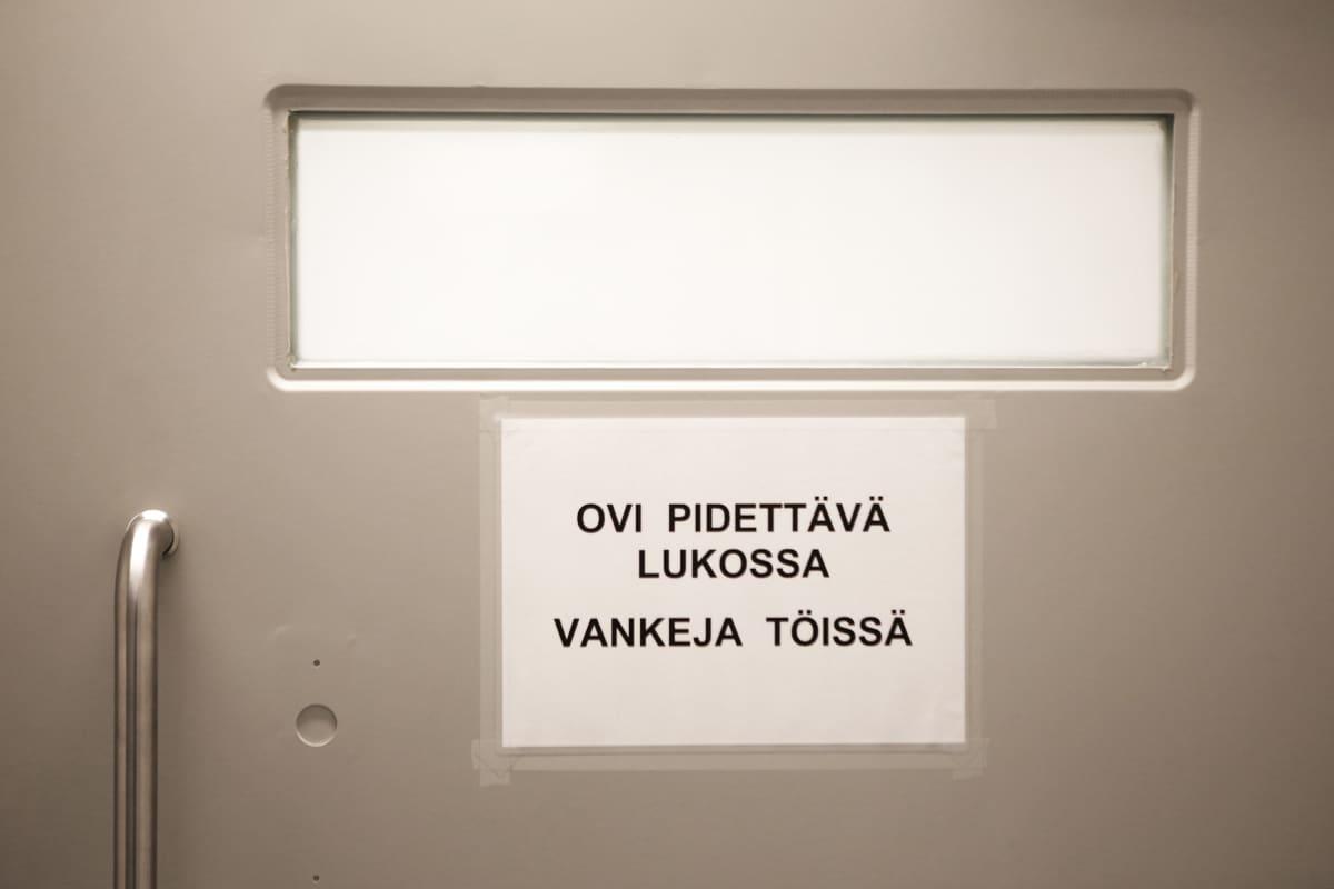 Saramäen vankila Turussa.