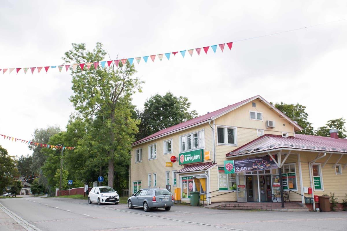 Lapinjärven keskusta