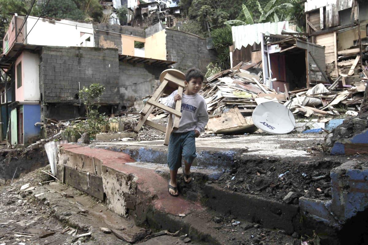 Nate-myrsky teki tuhoja Costa Ricassa aiemmin tällä viikolla.