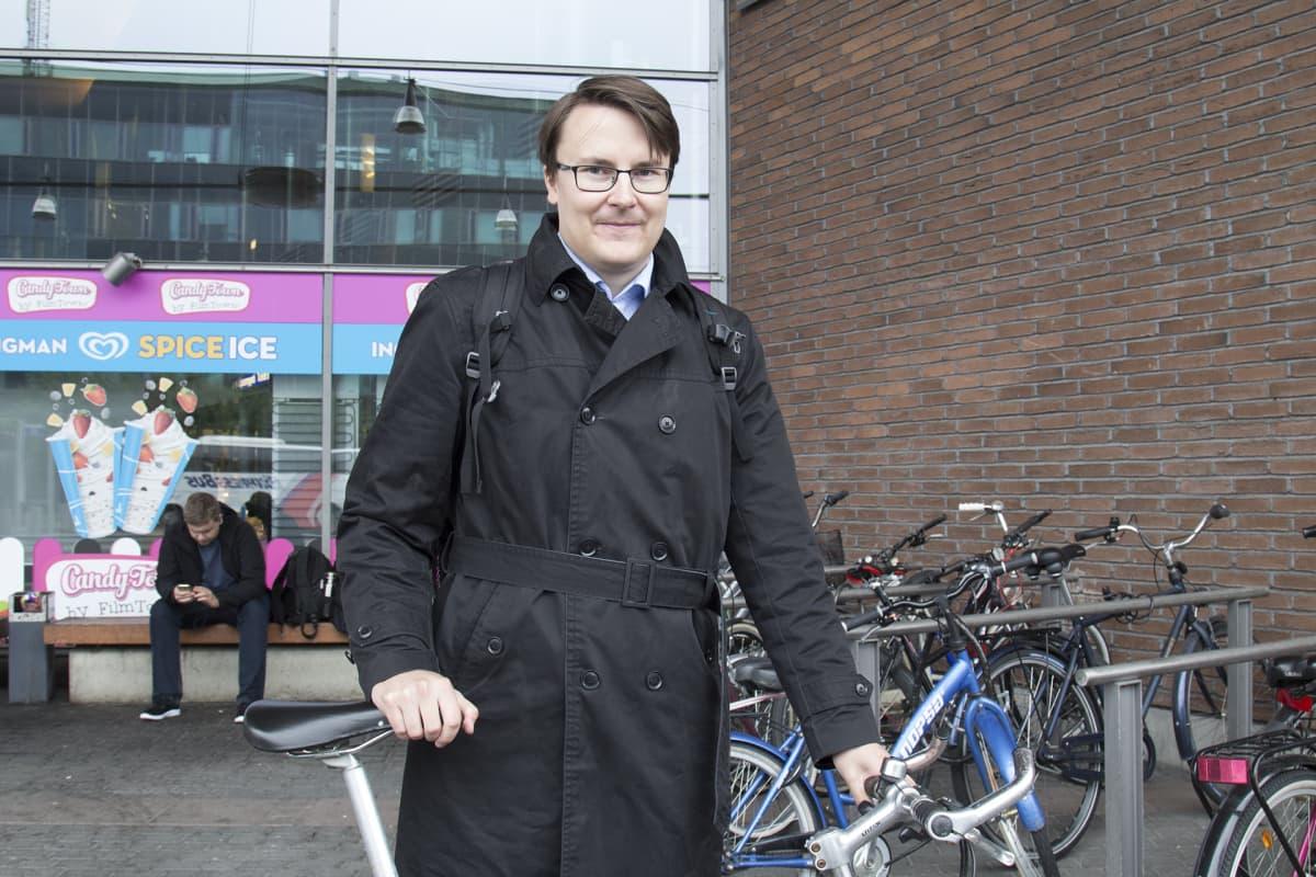 Apulaisprofessori Heikki Liimatainen