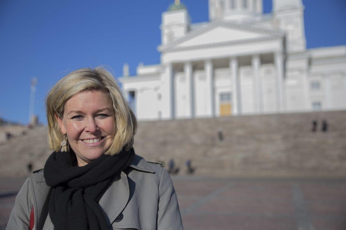 Laura Aalto, toimitusjohtaja, Helsinki Marketing.