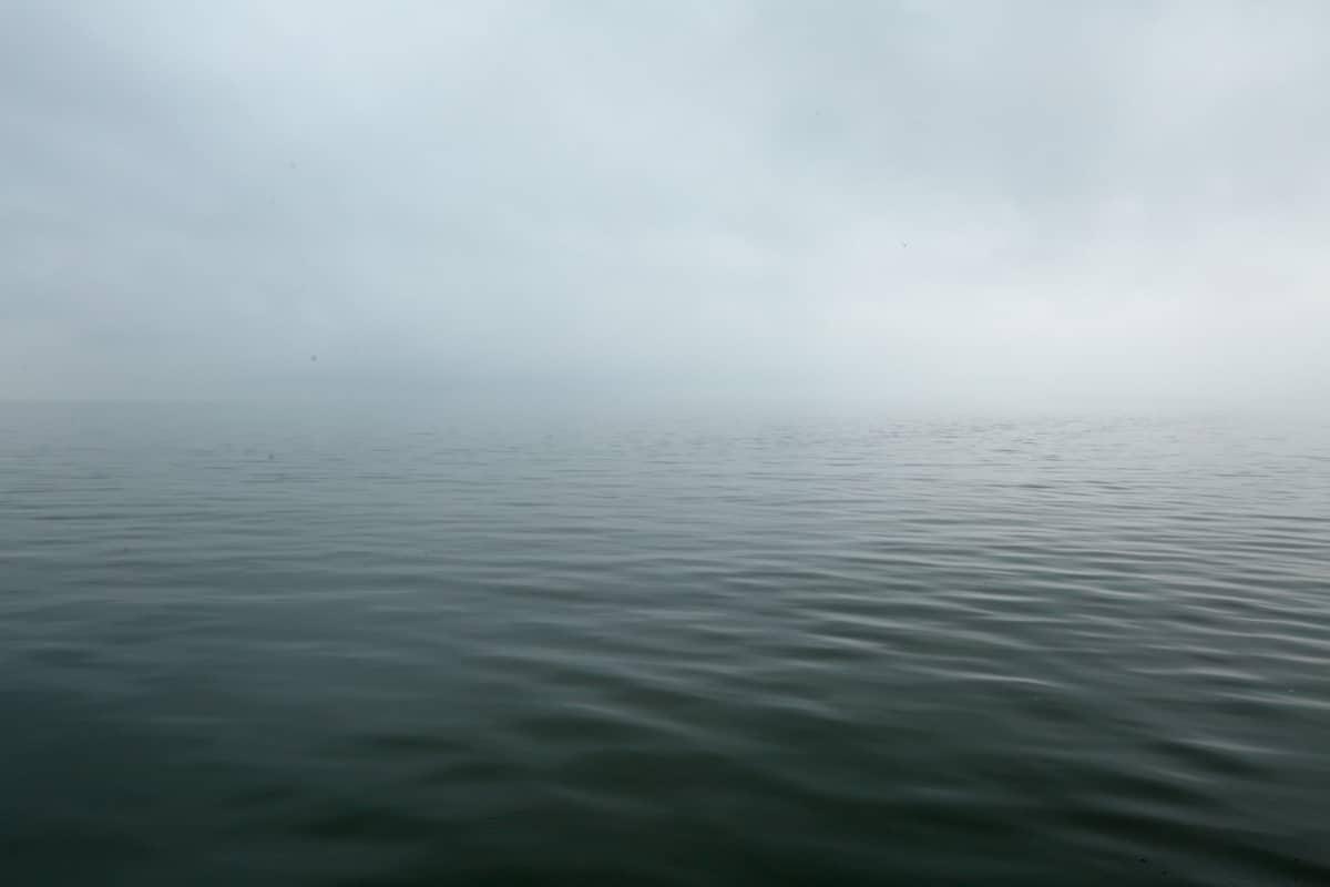 Tyyni merenpinta.