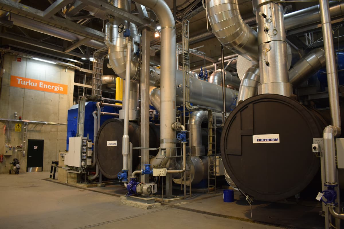 Turku Energian lämpöpumppulaitos Kakolassa