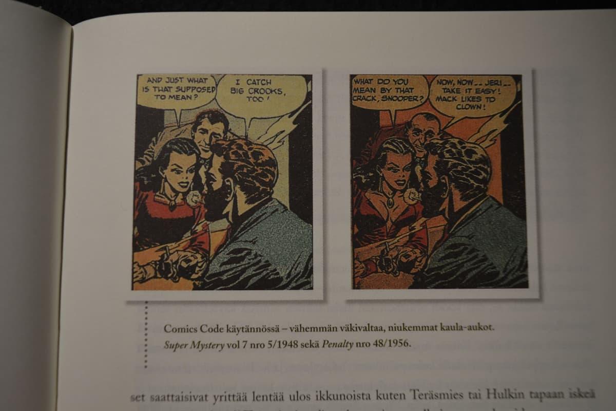 sarjakuva sensuuri, Comics Code