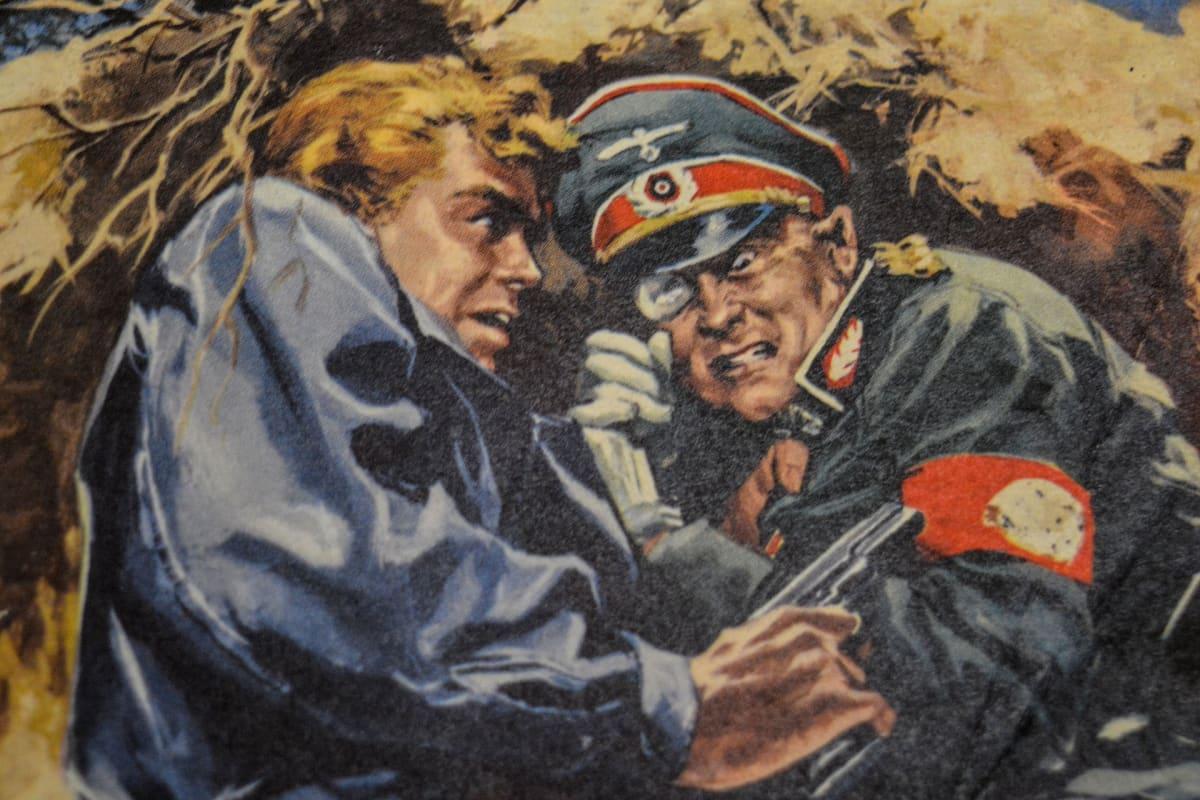 sarjakuva, Korkeajännitys, natsi, sensuuri
