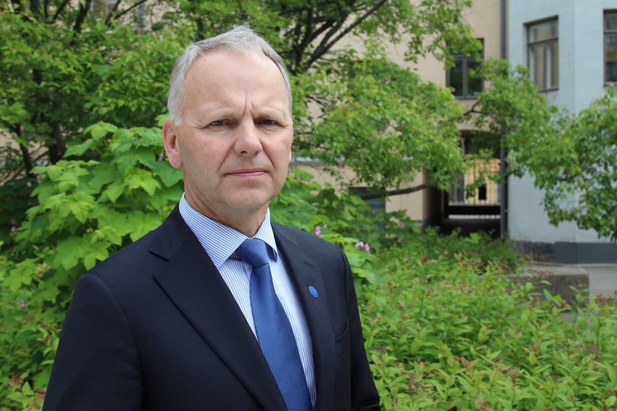 Jari Leppä Maa- ja metsätalousministeri