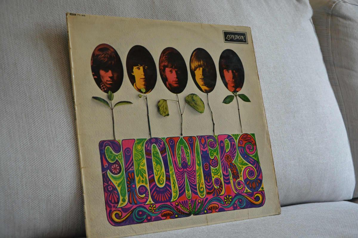 Skivan Flowers kom ut 1967. Exemplaret på bilden kom ut på det amerikanska bolaget London, men trycktes i England. Det är en exportskiva som  skulle skickas till Japan. Man känner till tre exemplar i hela världen.