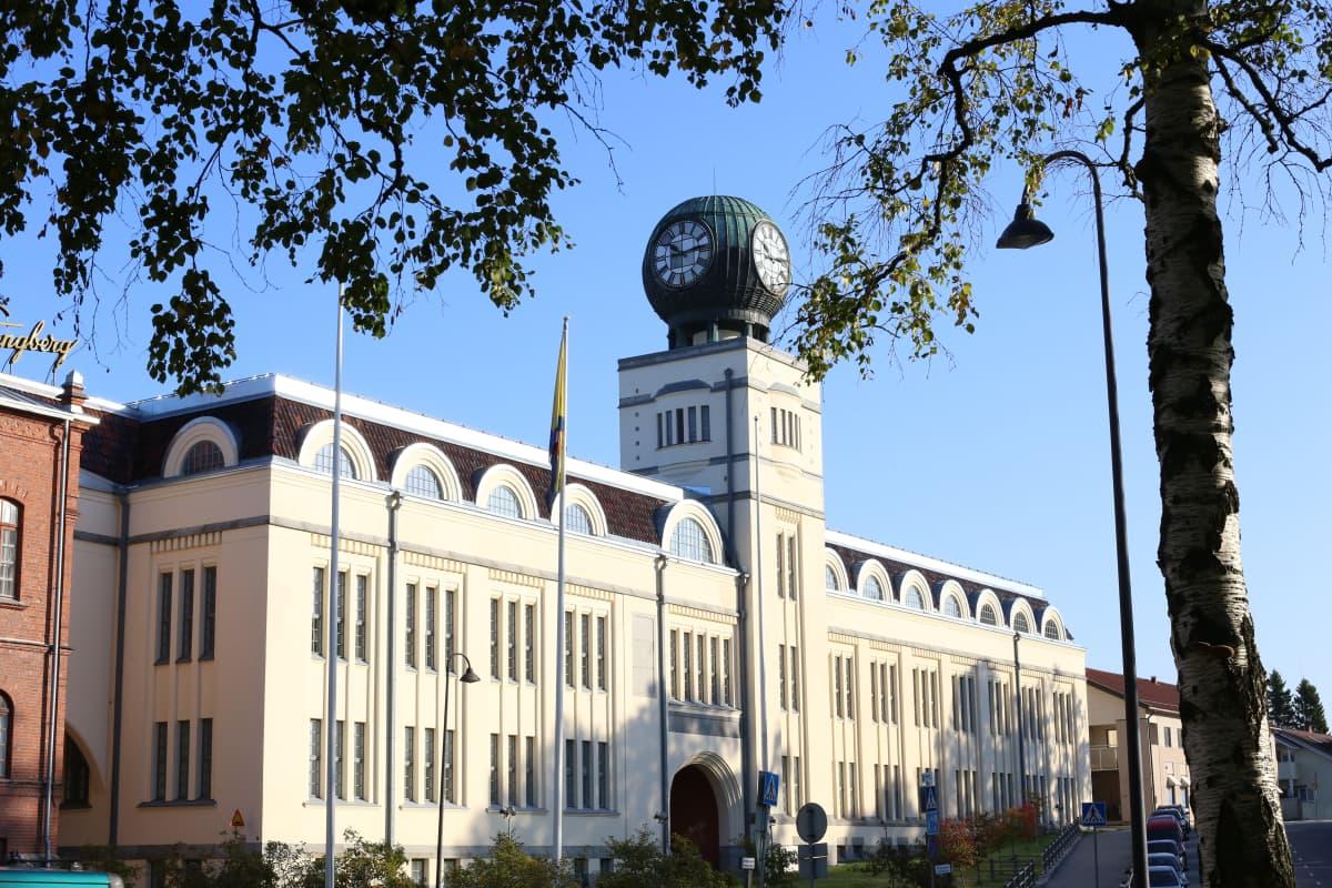Strengbergin kiinteistön uusin osa on valmistunut vuonna 1909.