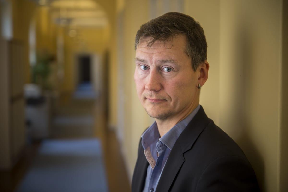 Venäjän energiapolitiikan professori Veli-Pekka Tynkkynen Aleksanteri-instituutti.