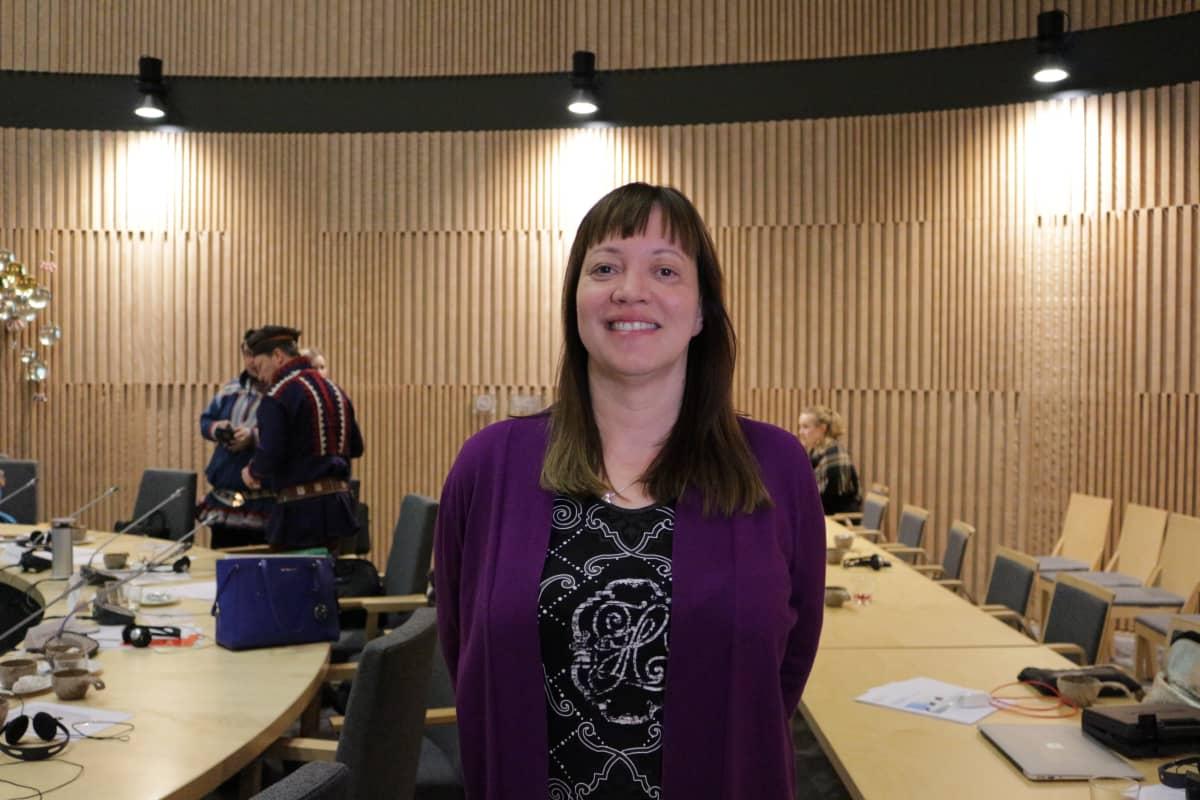 Saamelaiskäräjien jäsen Anne Nuorgam