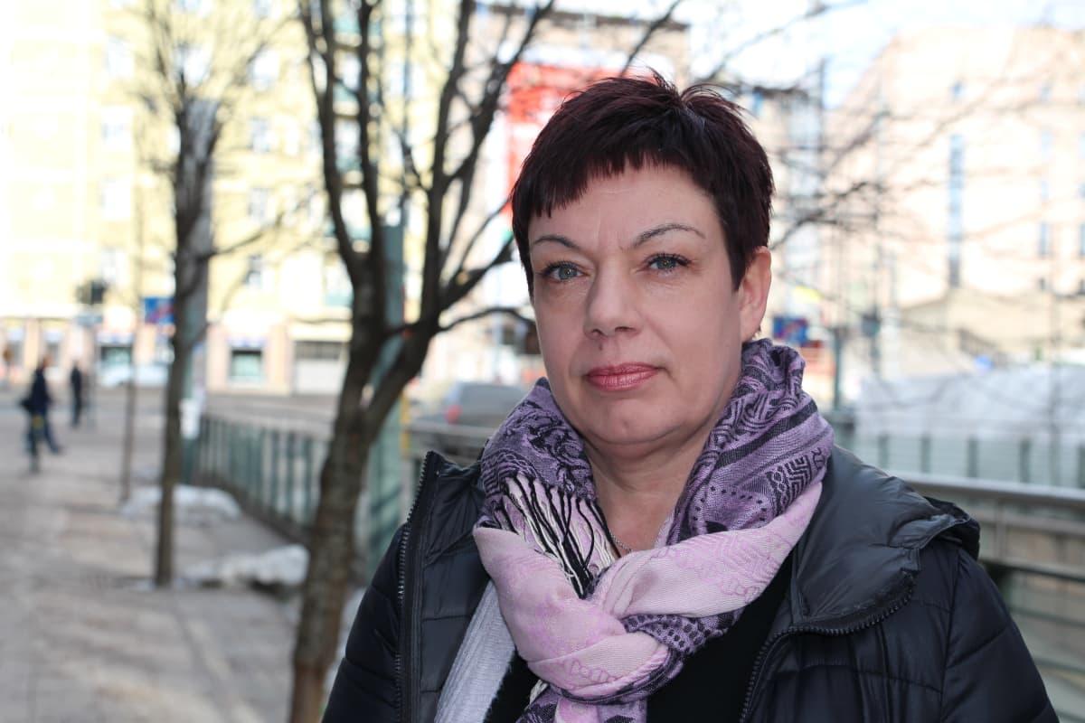 Nina Pulkkinen sairaanhoitaja