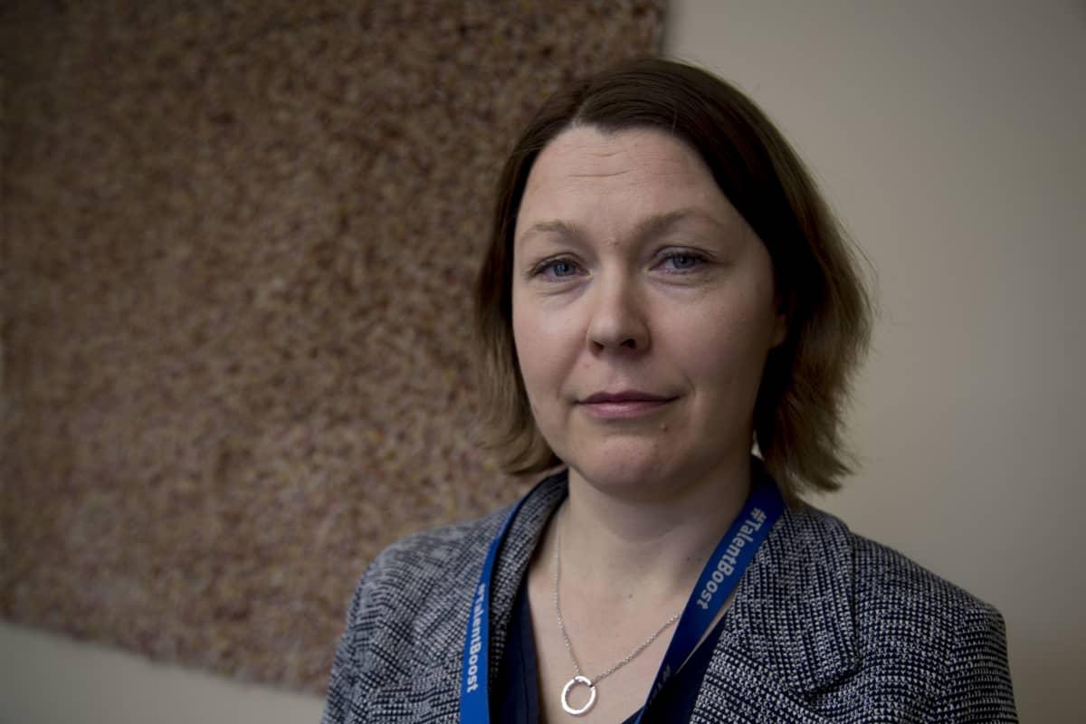 Sonja Hämäläinen on Työ- ja elinkeinoministeriön (TEM) maahanmuuttojohtaja.