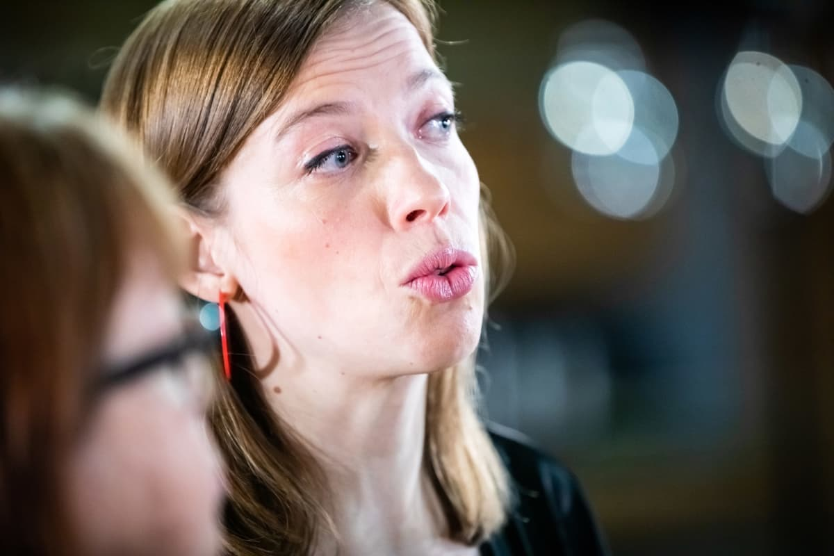 Eduskuntavaalit 2019. Pikkuparlamentin tulosilta. Li Andersson.