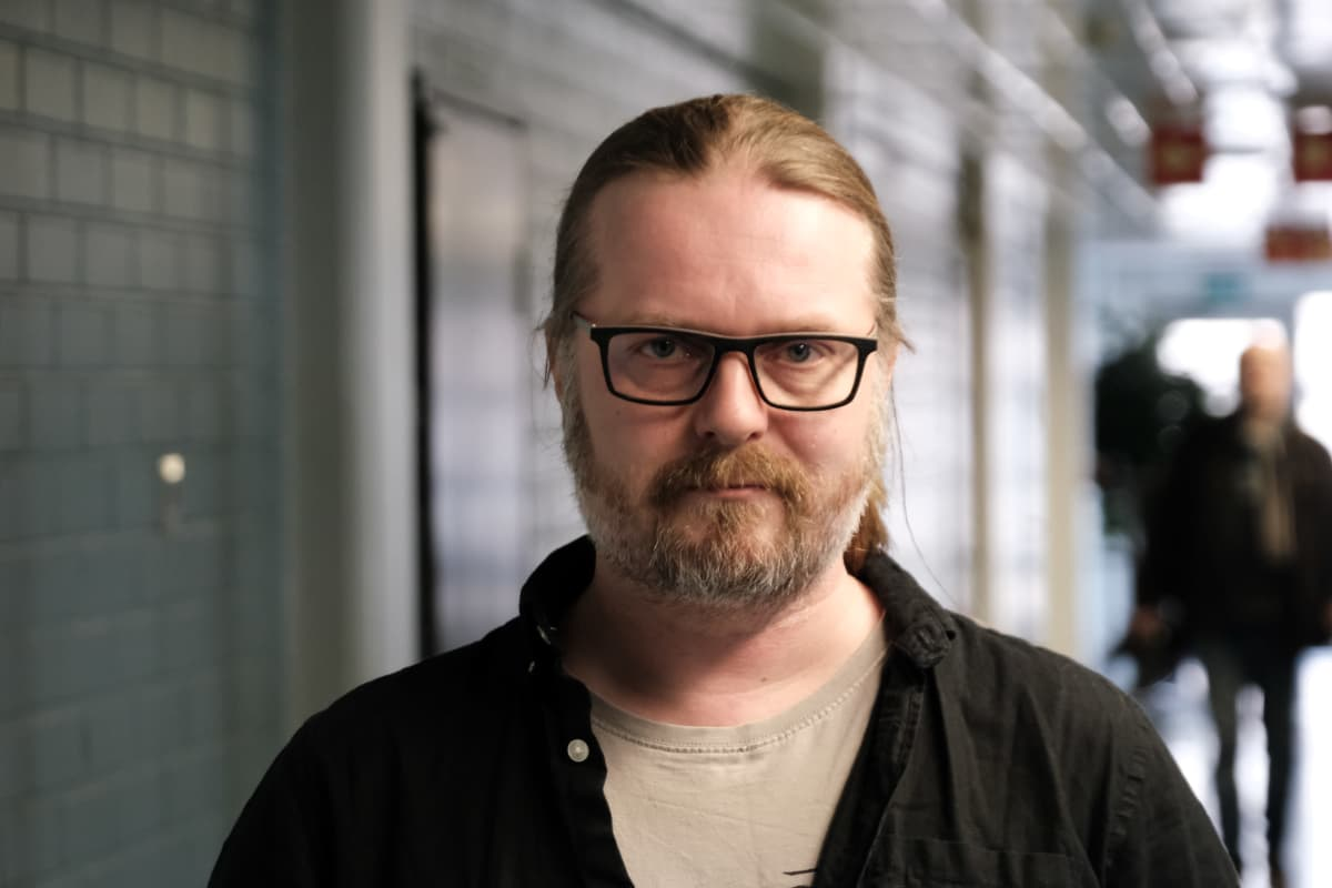 Närbild på Marko Hautala.