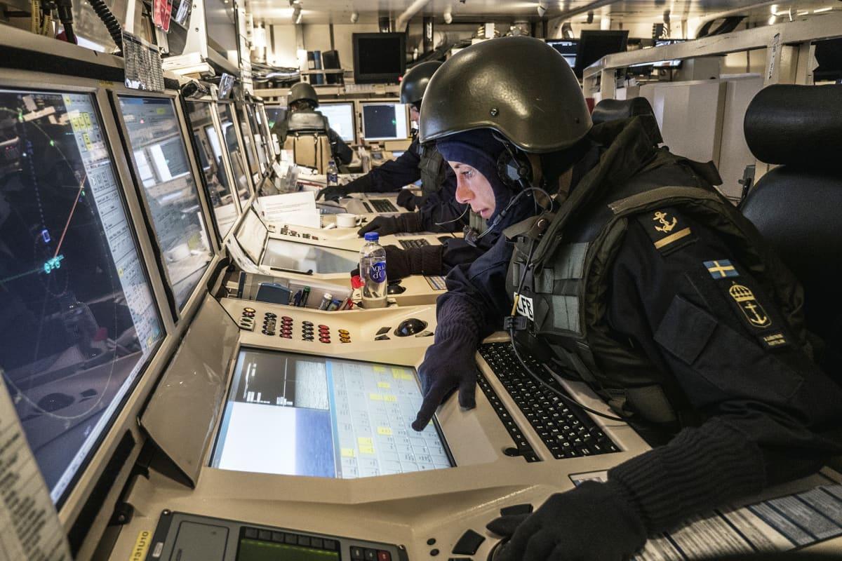 laivan monitoreja tutkitaan