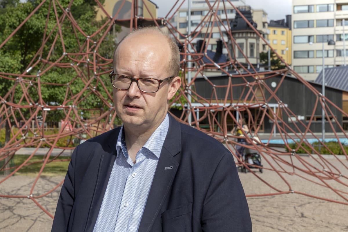 Mannerheimin lastensuojeluliiton johtava asiantuntija Esa Iivonen
