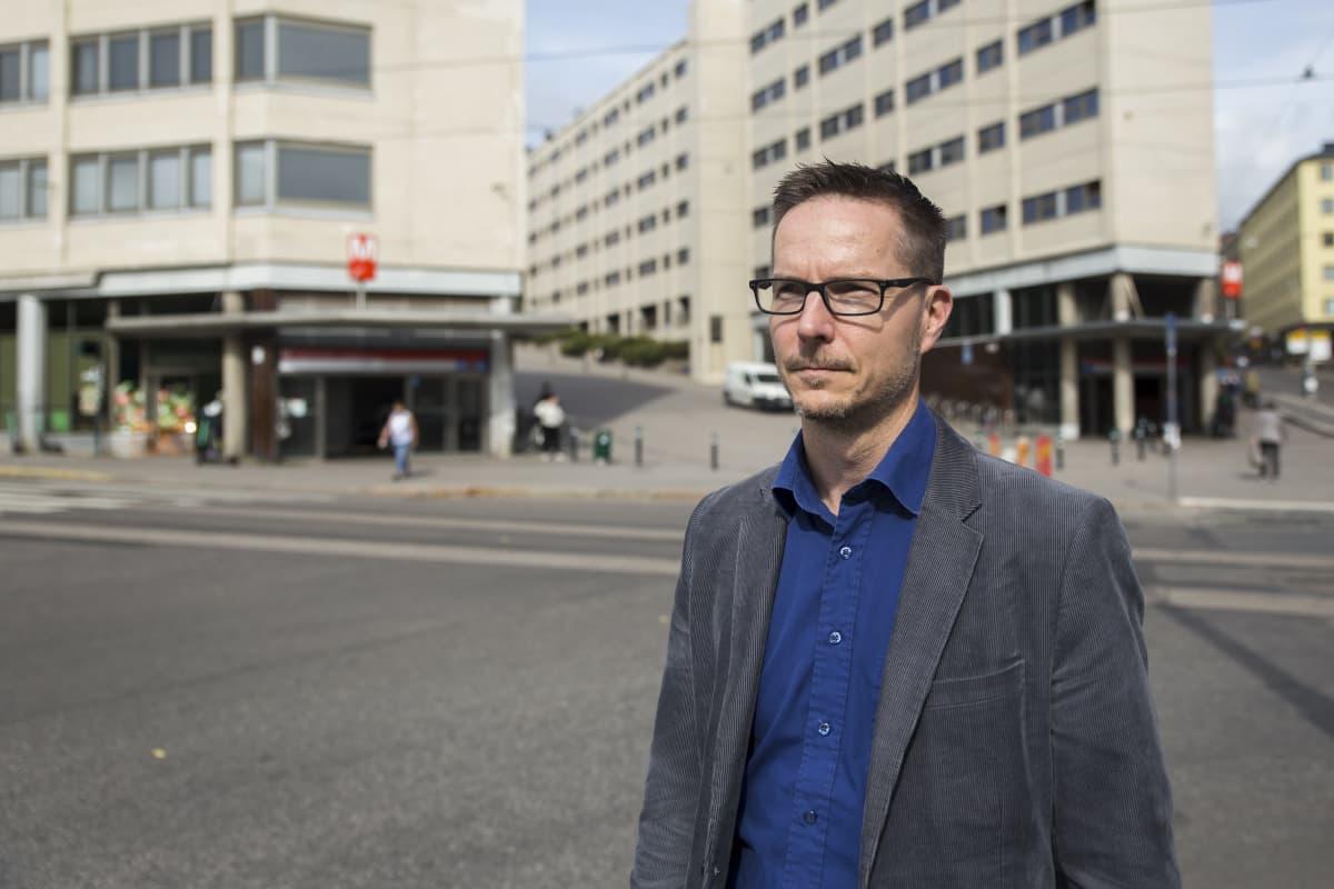 Ympäristöministeriön erikoisasiantuntija, Aalto-Yliopiston professori Matti Kuittinen