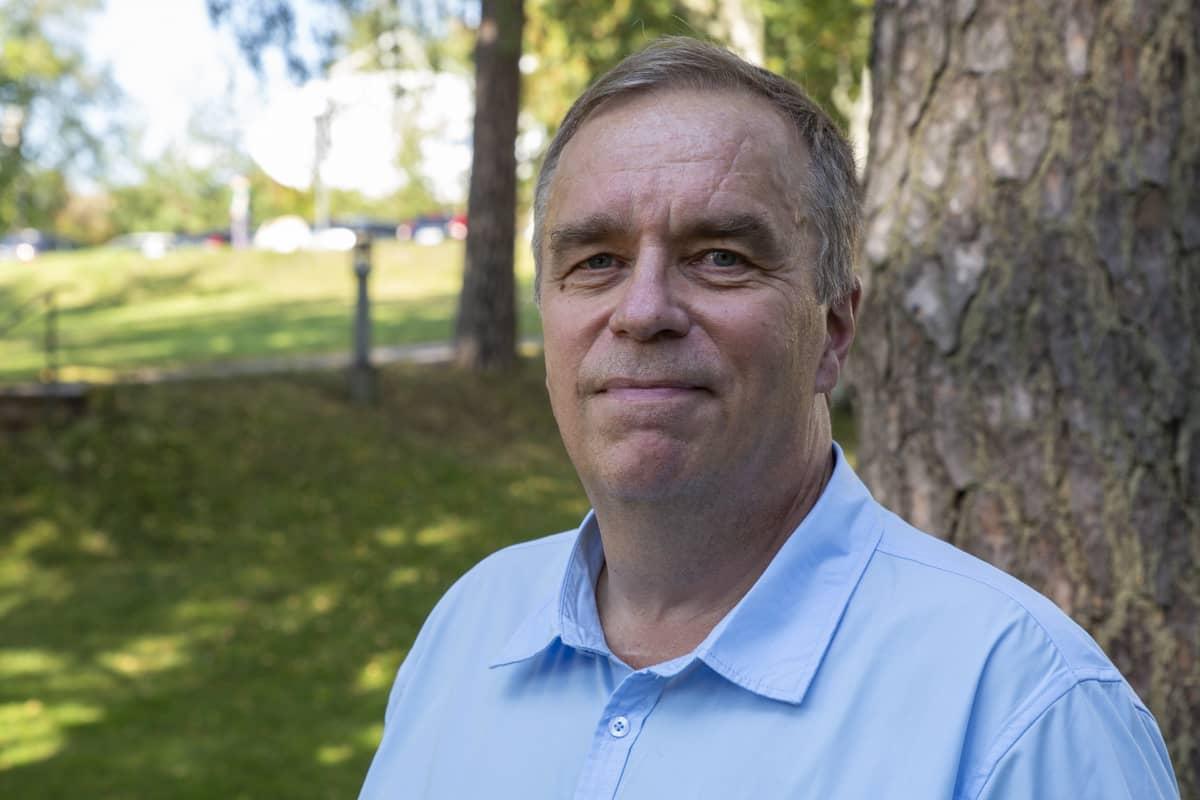 Johtaja Jarmo Ukkonen, Uudenmaan työ- ja elinkeinotoimisto.