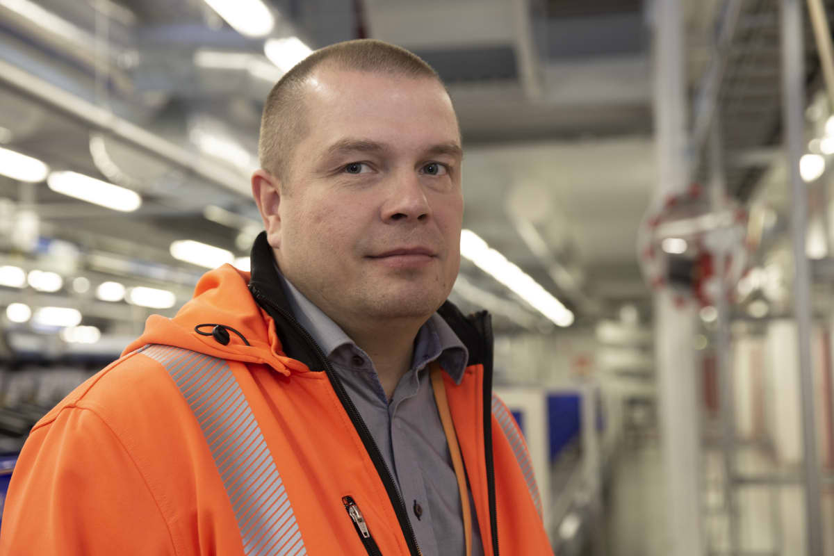Sami Reponen / Johtaja / tuotanto / postinjakelu / Pasila 11.10.2019