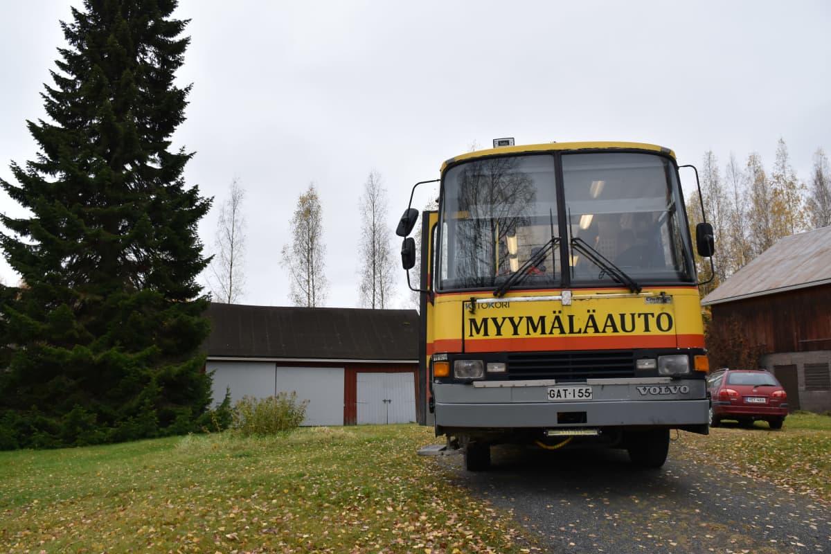 Myymäläauto Kiteeltä.