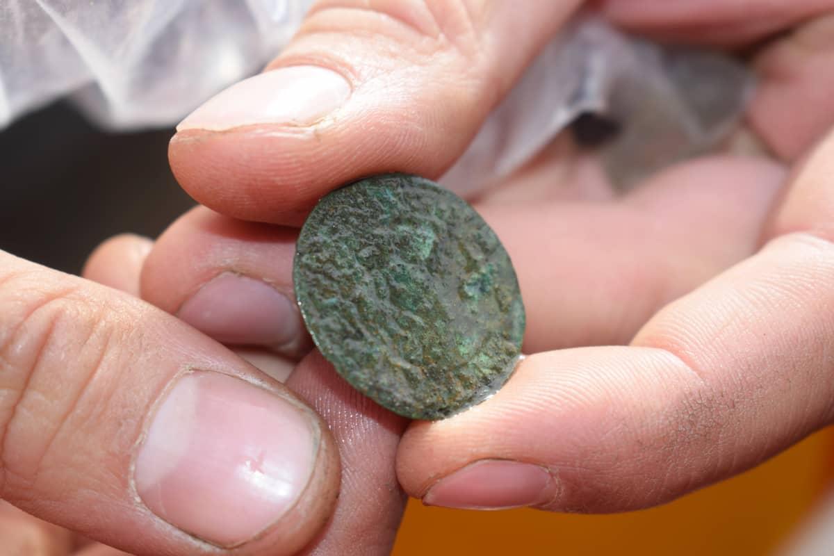 Arkeologi näyttää 1500-luvun rahaa