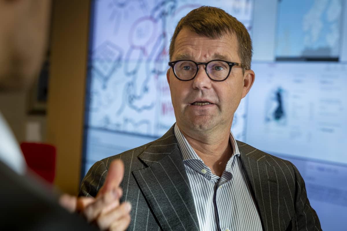 Jukka Ruusunen toimitusjohtaja Fingrid
