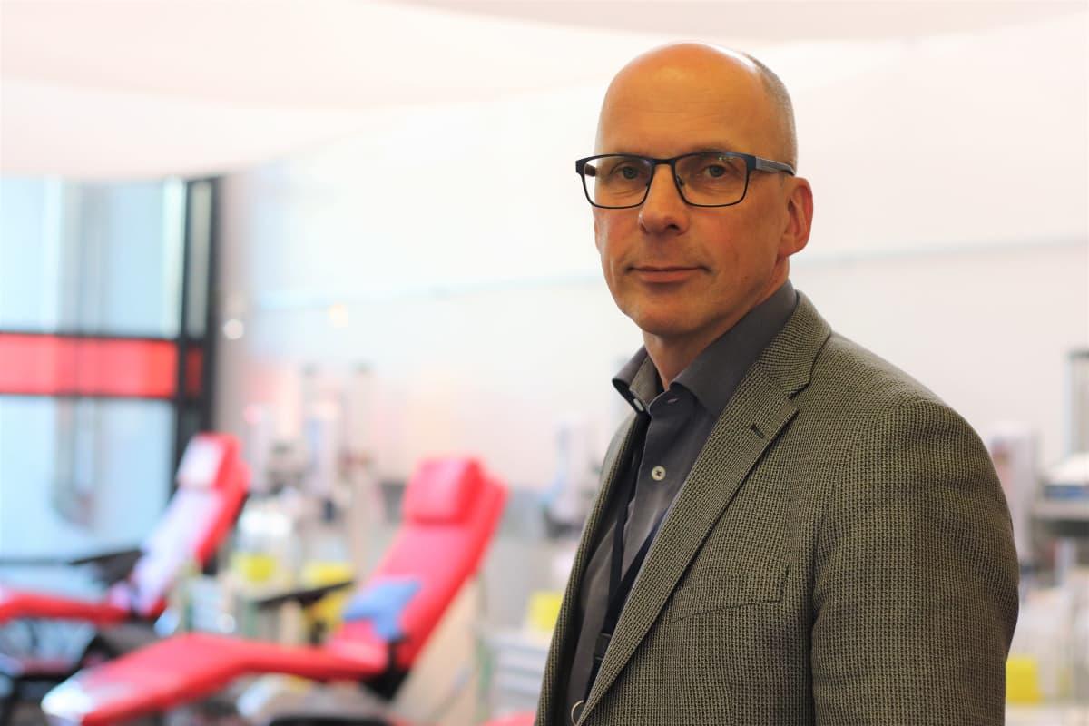 Veripalvelun viestintä- ja henkilöstöjohtaja Willy Toiviainen
