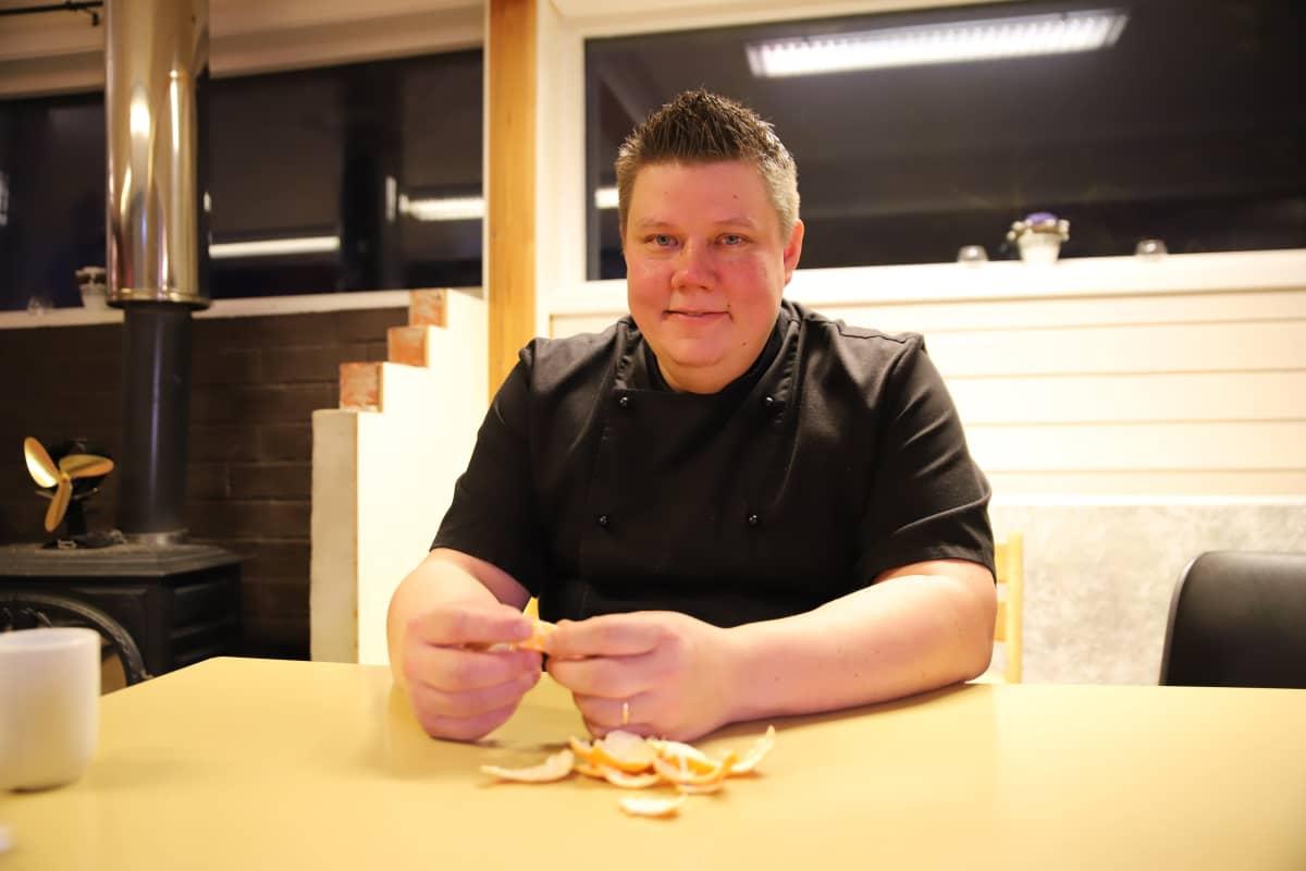 Tero Paltto asuu Suomessa, Karigasniemellä mutta käy viikoittain Norjassa kaupassa.