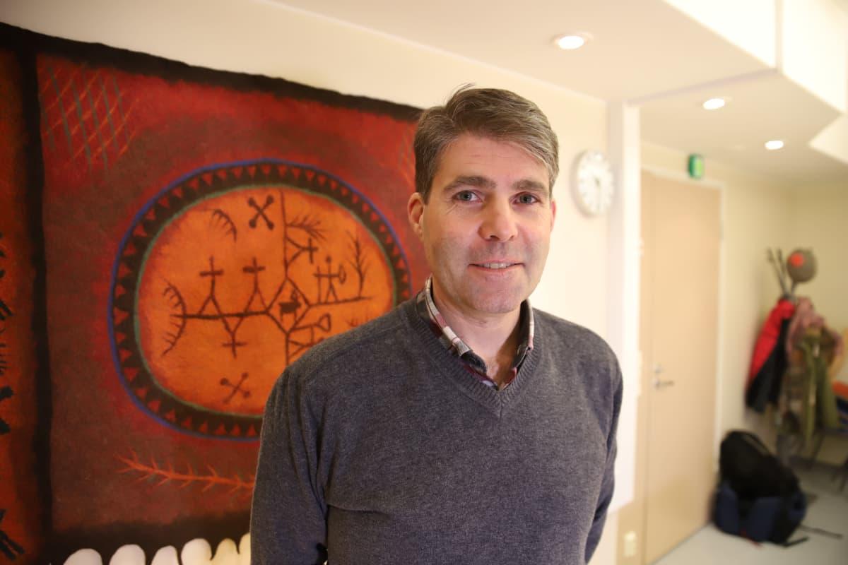 Jan Denks, Sujuvasti Arktiseen elämään -hankkeen koordinaattori.