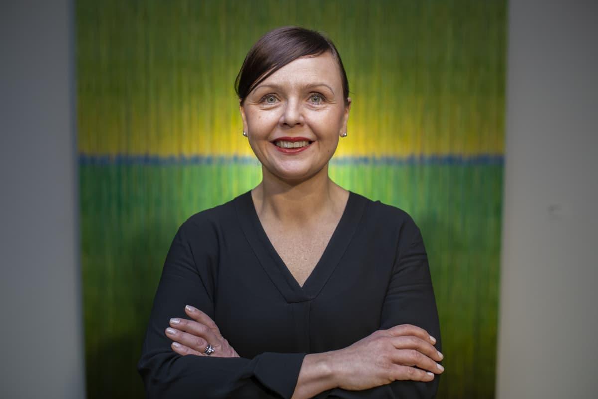 THL:n erikoistutkija Annamari Lundqvist.