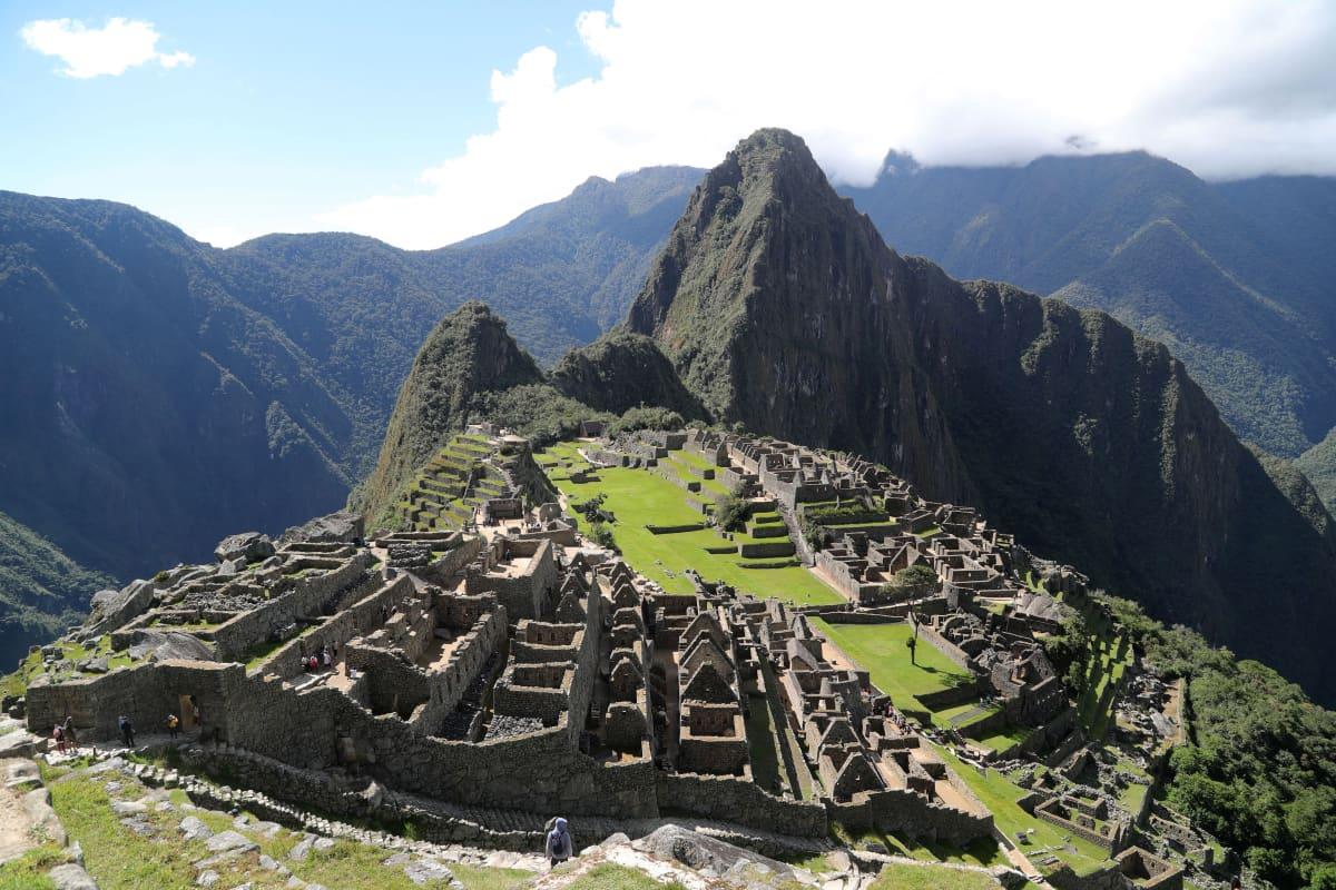 Machu Picchun alue.