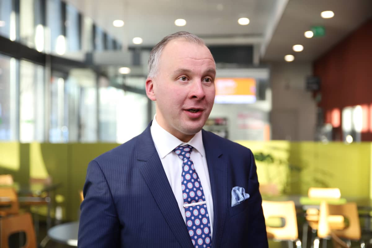 Riihimäen kaupunginjohtaja Sami Sulkko.