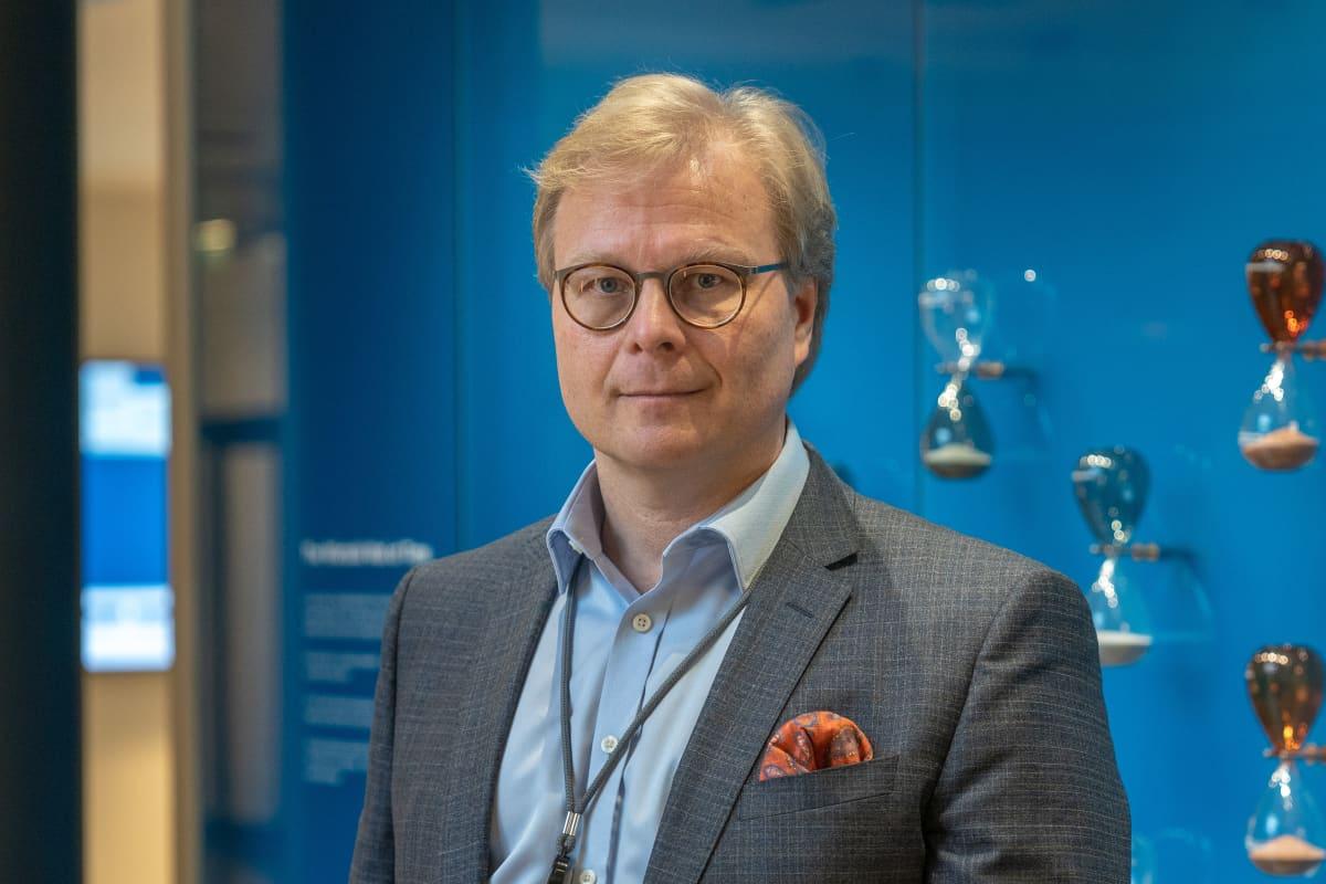 Wärtsilän viestintäjohtaja Atte Palomäki