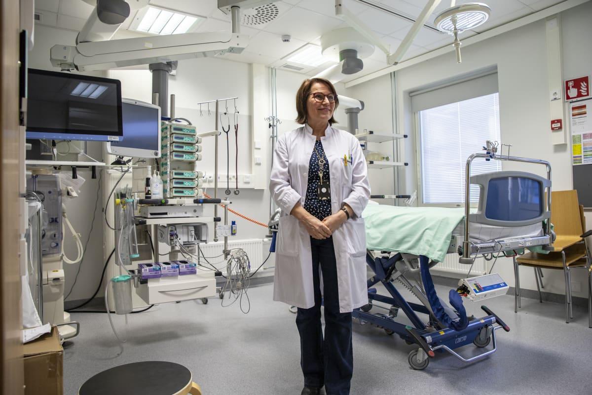 Kys:n infektioylilääkäri Irma Koivula