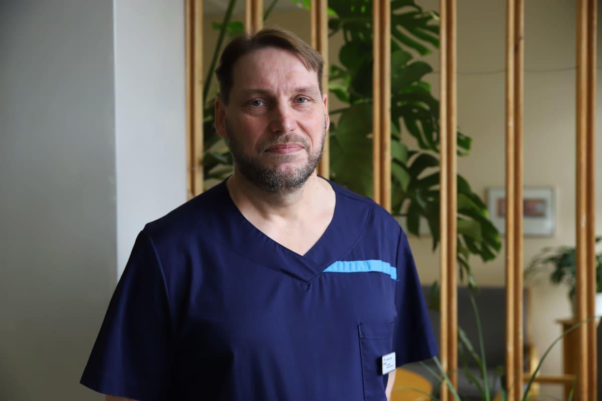 Kimmo Salmio, päivystyksen ylilääkäri, Kymsote