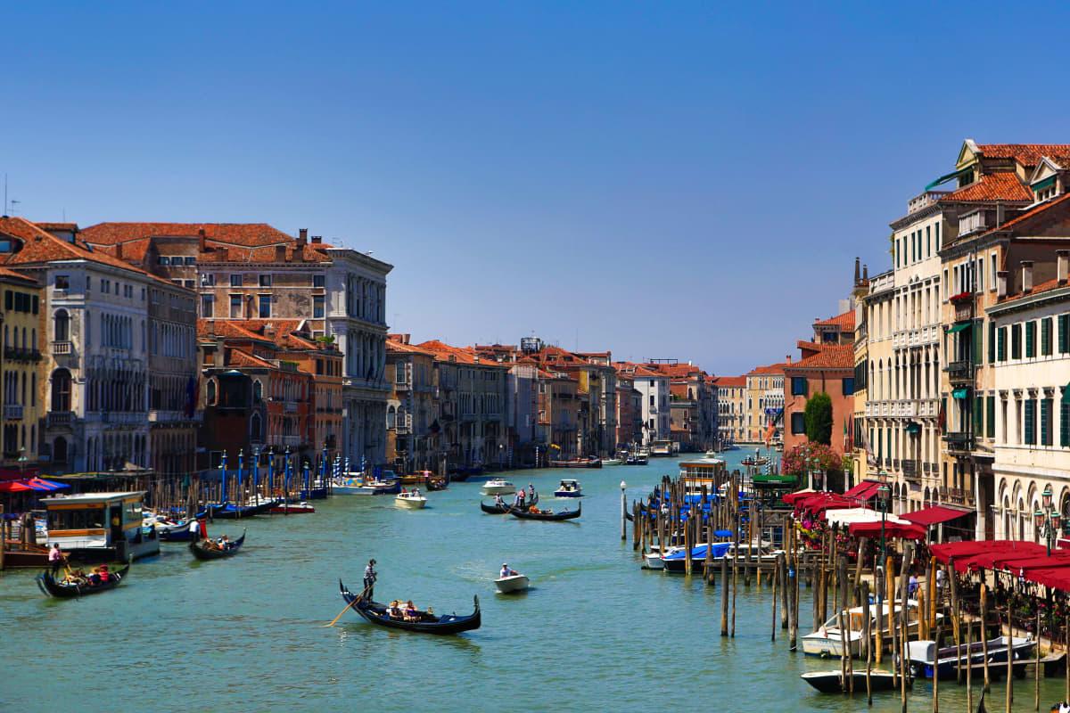 Venetsian kanaalit vuonna 2012