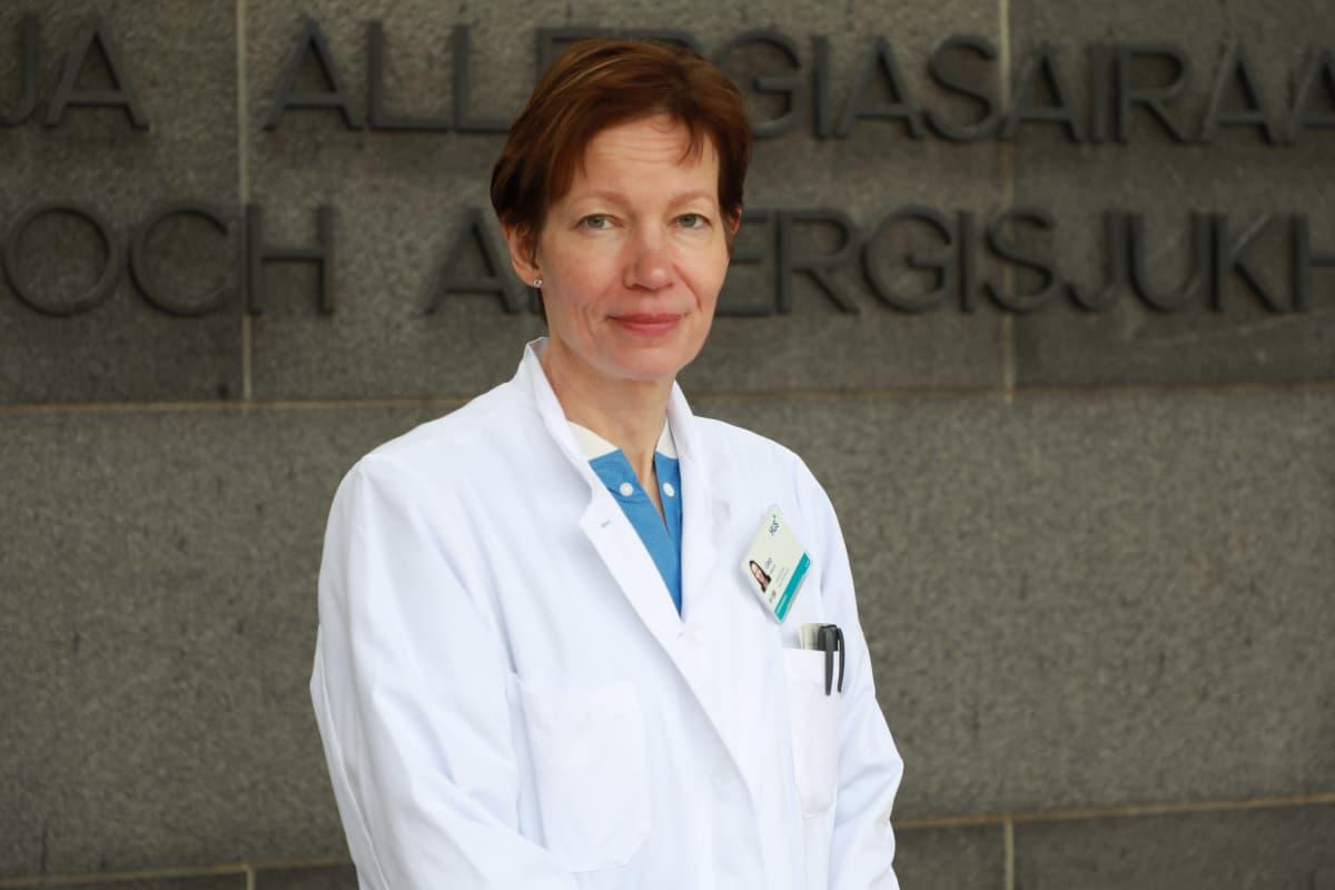 Liisa Väkevä, vs. osastonylilääkäri, Iho- ja allergiasairaala
