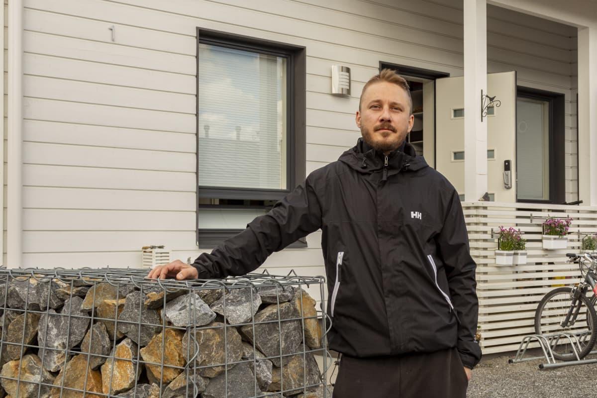 Tampereen Lintuhytin alueella asuva Tomi Kuusela