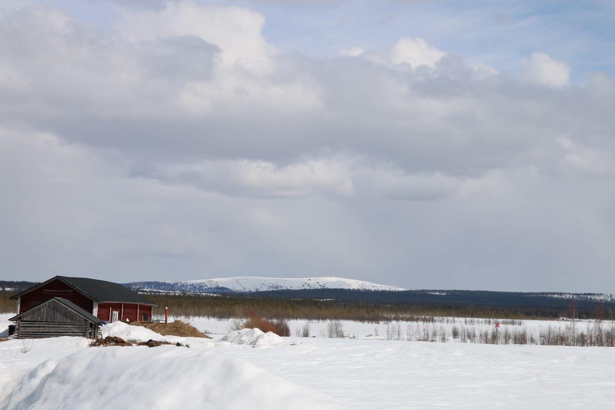 Fernandezin kotikylä Vuojärvi sijaitsee lähellä Luosto-tunturia