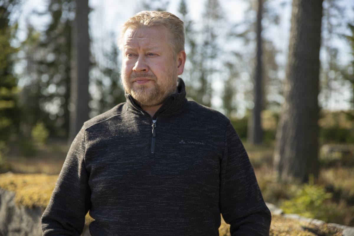 Tahko Safarien toimitusjohtaja Arto Jauhiainen.